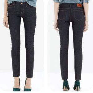Madewell Alley Straight Leg Jeans in Raw Wash